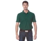 """Рубашка """"Поло"""" с коротким рукавом (зелёная)"""