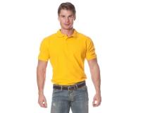 "Рубашка ""Поло"" с коротким рукавом (жёлтая)"