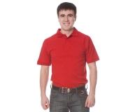"Рубашка ""Поло"" с коротким рукавом (красная)"