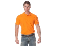 "Рубашка ""Поло"" с коротким рукавом (оранжевая)"