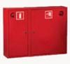 Шкаф пожарного крана ШПК-315 НЗК для 1-го рукава и 1-го огнетушителя (навесной, закрытый, красный, 840x650х230мм.)