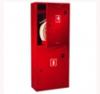 Шкаф пожарного крана ШПК-320 НЗК для 1-го рукава и 2-х огнетушителей (навесной, закрытый, красный, 540x1300х230мм.)