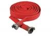 Латексированный рукав пожарный напорный диам. 89мм в сборе с навязанными головками ГР-90 (длина 20м.)