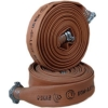 Прорезиненный рукав пожарный напорный диам. 66мм. в сборе с навязанными головками ГР-70 (длина 20м.)