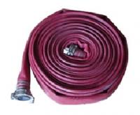 Латексный рукав пожарный напорный диам. 100мм в сборе с навязанными головками ГРВ-100 (длина 20м.)