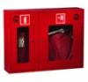 Шкаф пожарного крана ШПК-315 НОК для 1-го рукава и 1-го огнетушителя (навесной, открытый, красный, 840x650х230мм.)