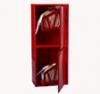 Шкаф пожарного крана ШПК-320-21 НЗК для 2-х рукавов (навесной, закрытый, красный, 540x1300х230мм.)